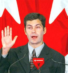 Le chef de l'Action démocratique du Québec